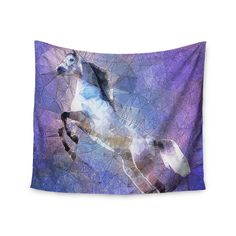 Kess InHouse Ancello 'Abstract Horse' 51x60-inch Wall Tapestry
