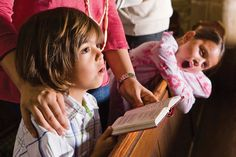 Have you ever been frustrated with your kids behavior at church? How do you teach them about worship? Here are some ideas for the various ages and stages of . Church Fundraisers, Sunday Worship, Old Country Churches, Marriage And Family, Family Life, Kids Behavior, Family Night, Sunday School, Sunday Morning