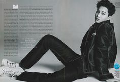 ELLE Korea Magazine, February 2016 Issue : Kai