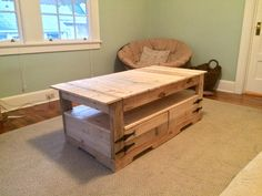 I  am a graduate student and my wife and I needed a coffee table for our new apartment. As a …