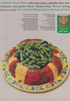 The Most Barf-tastic Old Food Recipe Ads Hungry? Over on the lively forum, Vintage Ads, they're currently having a Retro Recipes, Old Recipes, Vintage Recipes, Wine Recipes, Dessert Recipes, Spam Recipes, Desserts, Gross Food, Weird Food
