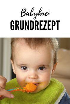 Mit diesem Rezept für Babybrei kannst du deinem Baby die verschiedensten Variationen kreieren. Es ist ganz einfach in der Umsetzung und kommt ohne Grammangaben aus. Klick auf das Bild, um zum Rezept zu gelangen.
