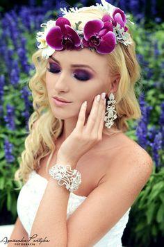 Biżuteria ślubna z oryginalnymi kryształami