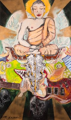 Rock´n Roll Buddha goes wydr #original #art #wydr #tinderforart #artyoulove #painting http://www.wydr.co/products/rock-n-roll-buddha?utm_campaign=social_autopilot&utm_source=pin&utm_medium=pin
