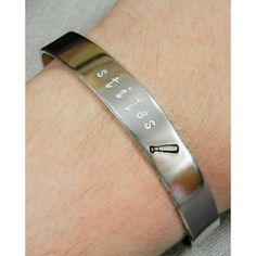 Teen Wolf Minimalist Hand Stamped Bracelets Teen Wolf Jewelry Stiles... (17 CAD) ❤ liked on Polyvore featuring jewelry, bracelets, hand stamped jewelry and wolf jewelry