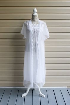 Vintage 70's Val Mode Lingerie White Wedding by RomantiqueTouch, $46.00