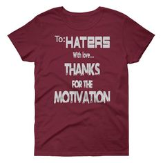 No Haters means you're not working. Don't get mad, get motivated. #melanin #motivation