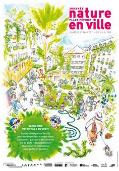 1000 images about affiches nature on pinterest lausanne for Ville nature
