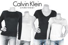 b7fce39afeb6b Wieder im Angebot dabei sind die Calvin Klein Lang-  Kurzarm- Damen-Shirts