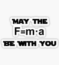 Star Wars Physics Force Sticker