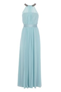 The Fernanda maxi dress is a beautiful piece perfect for your special events. The embellished halter neck accentuates this piece whilst the cinched in waist tie creates an enviable silhouette. Gentle pleats from the boned bodice and waist send cascading movement through the skirt for effortless movement. Coast