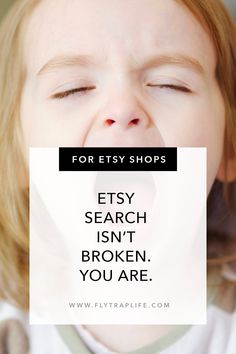 You might think Etsy search is broken because you can't find your products. But if you look at it differently, you can find new ways to be found instead. And Just Like That, Care About You, When Us, Change Me, Perception, Finding Yourself, Shops, Etsy Shop, Search