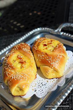 Cooking with Zoki: Peciva ---- čamci Savory Pastry, Pesto Recipe, Hot Dog Buns, Baked Potato, Cooking Recipes, Baking, Breakfast, Ethnic Recipes, Yummy Yummy