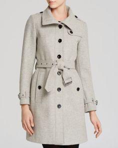 Burberry Brit Coat & Dress | Bloomingdales's