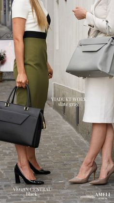 Empowering our businesswomen with elegant yet minimalistic business bags. Discover our wide selection of functional work handbags, designed to be an extension of your own ambition and style. Designed in Switzerland and handcrafted in Italy. Zurich, Work Handbag, Work Today, Business Outfits, Hermes Kelly, Women Empowerment, Business Women, Take That, Pairs