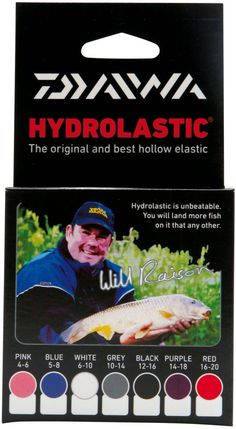 Daiwa Hydrolastic only £14.99  #Daiwa #WarringtonAnglingCentre  Daiwa is a brand that has been revolutionising tackle since it first arrived on the market almost sixty years ago. Hydrolastic is one of those revolutions, and Daiwa is proud of its status as the original and the best pole elastic on the market. Hyrdolastic is an award winning concept, which offers multi-phase performance and delivers a wide scale of ratings within one set up.  This makes it the perfect pole elastic for mixed…