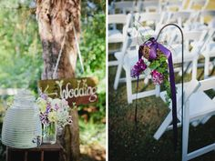 Rustic Purple Tennessee Barn Wedding#Cedarwoodweddings