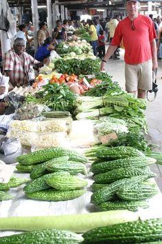 Exotische Reizen Suriname - Centrale markt van Paramaribo.