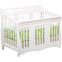 Crib for Baby #2 (found on sale for $99.99).  Now to find a matching white dresser/changing table combo...