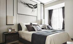 135平新中式风格,细线条内敛的空间_设计作品_搜狐焦点家居_设计效果图_家庭装修设计