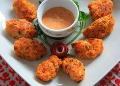 Bocaditos de coliflor y boniato | #Receta de cocina | #Vegana - Vegetariana ecoagricultor.com