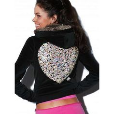 Victoria's Secret - Velour faux fur hoodie