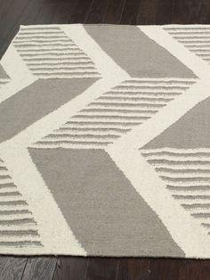 Tegan Striped Chevron Handmade Rug by nuLOOM at Gilt. home decor, print, design, decor, style, modern, home, house, contemporary, trends, interior design. Contemporary Rugs, Print Design, Chevron, Trends, Interior Design, Modern, Handmade, House, Home Decor