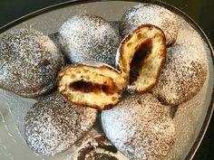 Pączki serowe w 5 minut! - Blog z apetytem Plum, Fruit, Food, Essen, Meals, Yemek, Eten