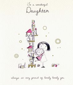 To a wonderful daughter. Paperlink