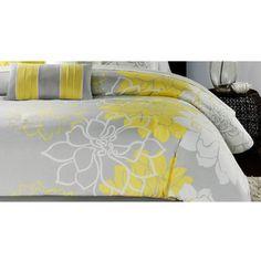 Madison Park 'Brianna' Contemporary 6-piece Duvet Cover Set   Overstock.com