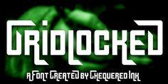 Gridlocked | dafont.com