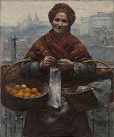 Aleksander #Gierymski - Pomarańczarka