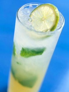 Mojito Fresco - At only 95 calories per serving this Cuban cocktail is the perfect choice for a warm weather cocktail. Substitute the sugar with stevia or another low-calorie sweetener to cut even more calories!