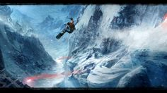 Big Air in SSX 2012