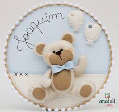 1 million+ Stunning Free Images to Use Anywhere Felt Diy, Felt Crafts, Diy And Crafts, Felt Decorations, Handmade Decorations, Moldes Para Baby Shower, Baby Posters, Felt Wreath, Handmade Baby Gifts