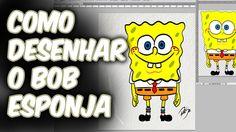 Aprenda a desenhar o BOB ESPONJA |  | How to draw Sponge Bob