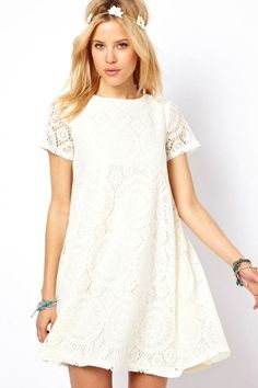 A Touch of Lace Dress