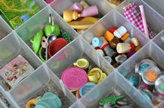 Organizing Calico Critters accessories