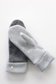How to Make Felted Wool and Fleece Mittens (With Free Pattern) | eHow