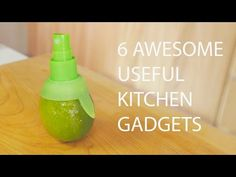 cooking and household hints 6 Amazing Useful Cooking Gadgets In this video, you will see 6 crazy fun useful gadgets that you can use in your home kitchen to make cooking a li Cool Kitchen Gadgets, Kitchen Hacks, Cool Gadgets, Cool Kitchens, Amazing Gadgets, Kitchen Stuff, Cooking Gadgets, Cooking Tips, Nouveaux Gadgets