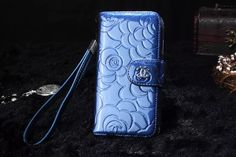 Best Buy Chanel iPhone 6 Cases Real Luxury is NOT for Mass! - Everyone Pins Fashion - Blue - LeatheriPhone6Cases.com