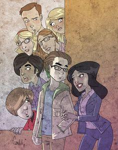 The Big Bang Theory Big Bang Theory, Bigbang, Bangs, Geek Stuff, Favorite Tv Shows, Physicist, Art Pics, Season 4, Geeks
