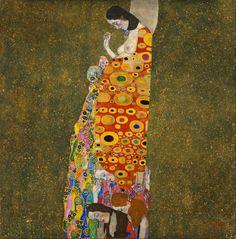 Gustav Klimt, Hope II, 1907-08