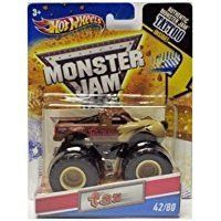 2011 Hot Wheels Monster Jam #42/80 TAZ 1:64 Scale Collectible Truck with Monster Jam TATTOO