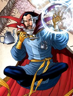 Dr. Strange. Fingers crossed for a proper movie announcement on Saturday :)