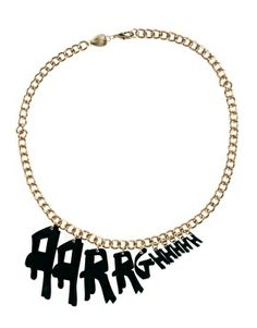 Oh lovely nerdyness: the Aarrghhh necklace