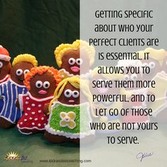 Are you specific about who you serve? http://bit.ly/1io3qKX