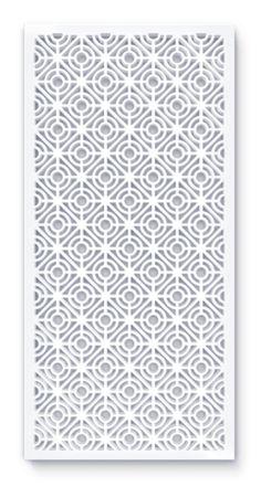 laser cut screen geometric circa pattern
