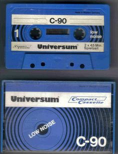 1x Universum C 90 Kassette