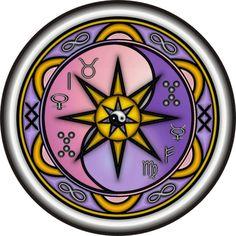 ARTHE A4 -MANDALA DO RELACIONAMENTO elaborada de acordo com os nomes e datas de nascimento de acordo com a Numerologia e Astrologia - MANDALA PARA CASAL - PARA TATUAGEM